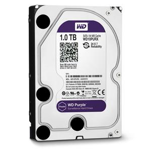 Western Digital WD10PURX Purple Internal Hard Drive 1TB